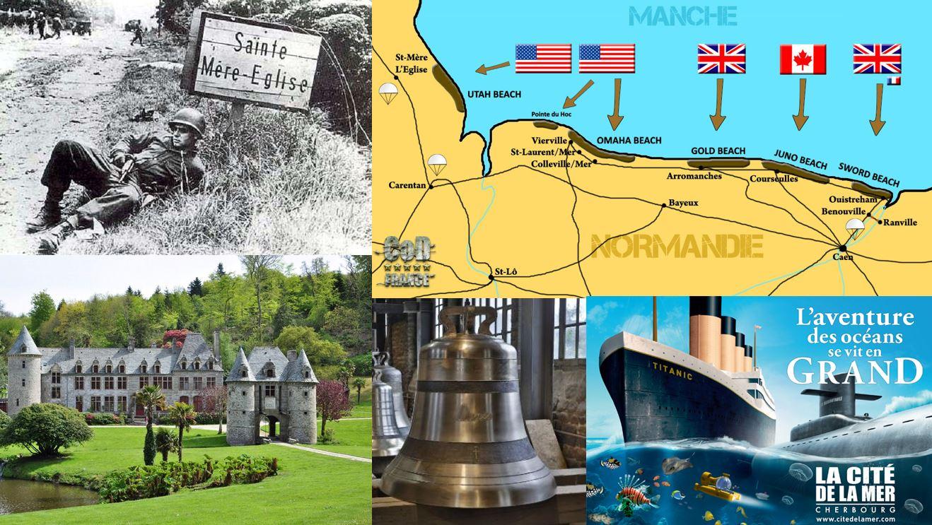 A la conquête du patrimoine et Histoire de la Manche en Normandie