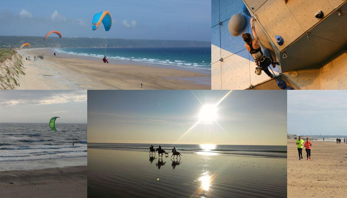Sport ou détente, Normandie, Chausey, Jersey, Tatihou